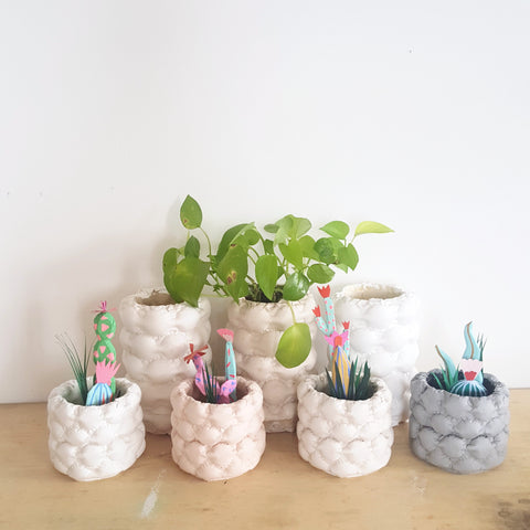 Come Out to the Coast: Bubble Planter