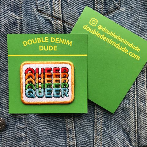 Double Denim Dude: Queer Patch