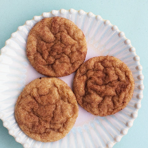 FHTS: Chewy Banana Snickerdoodles (V)