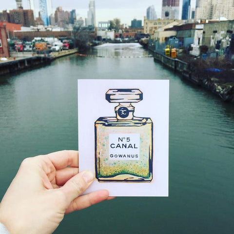 Gowanus Souvenir: Postcards & Greeting Cards