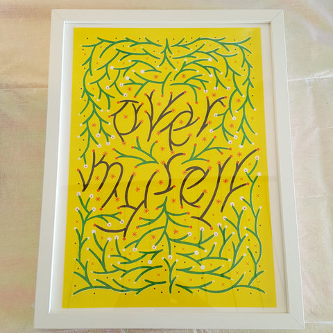 Hannah K. Lee: Over Myself Print