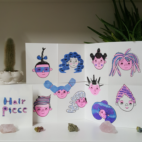 Helen Chau: Hair Piece Zine