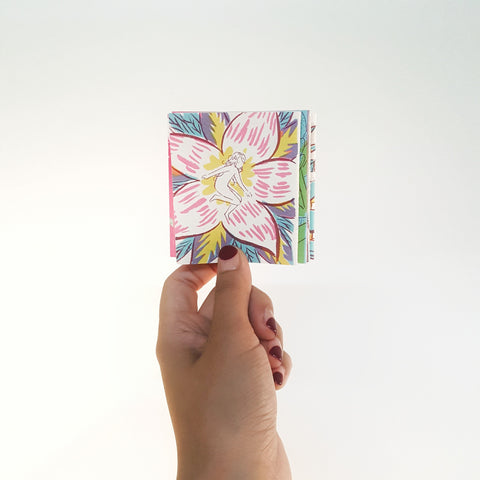 Jen Tong: Bloom Mini Accordion Book