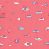 Jen Tong: 'Spaceships' Gift Wrap Sheet
