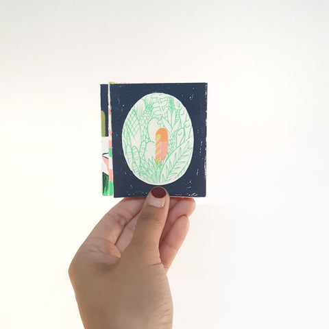 Jen Tong: Structure Mini Accordion Book