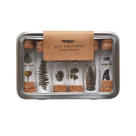 June & December: Specimen Collecting Kit