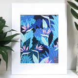 Kim Sielbeck: Blue Hawaii Prints