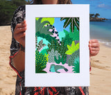 Kim Sielbeck: Monk Seal Sighting Print