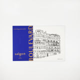 Lys Bui: Saigon Boulevard Coloring Postcards