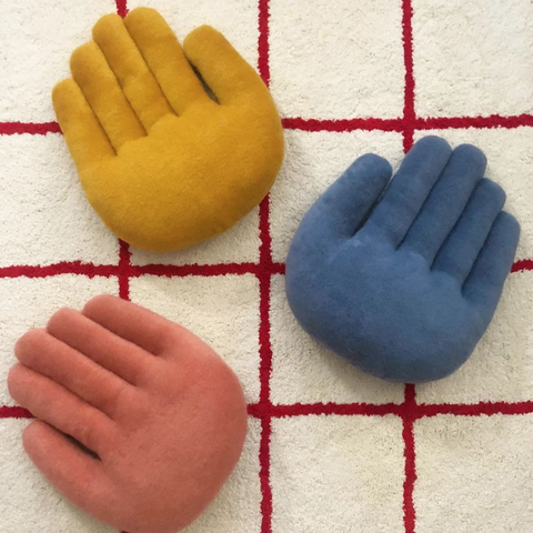 Touchy Feely Studio: Hand Pillows