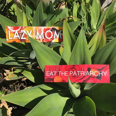 LAZY MOM: Bumper Stickers