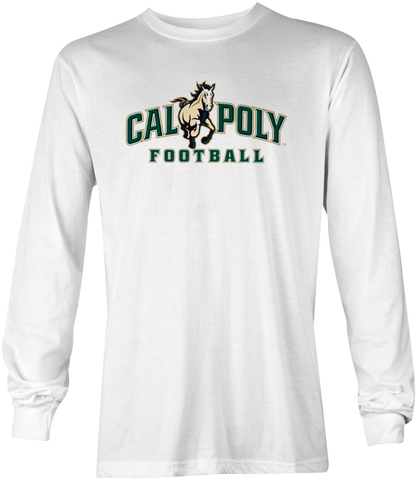 Cal Poly Football Long Sleeve T-Shirt