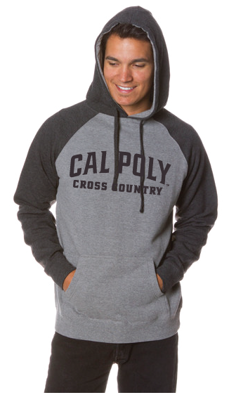 Cal Poly Cross Country - Raglan Hoodie