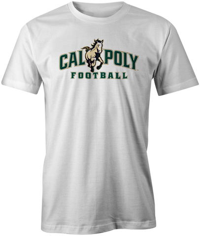 Cal Poly Football Short Sleeve Standard Cut T-Shirt
