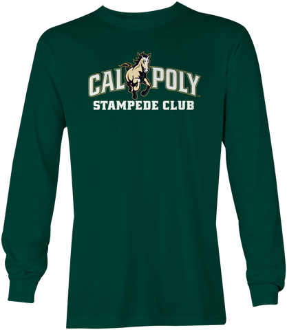 Cal Poly Stampede Club Long Sleeve T-Shirt