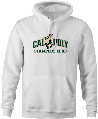 Cal Poly Stampede Club 8 oz. Mid-Weight Hooded Sweatshirt