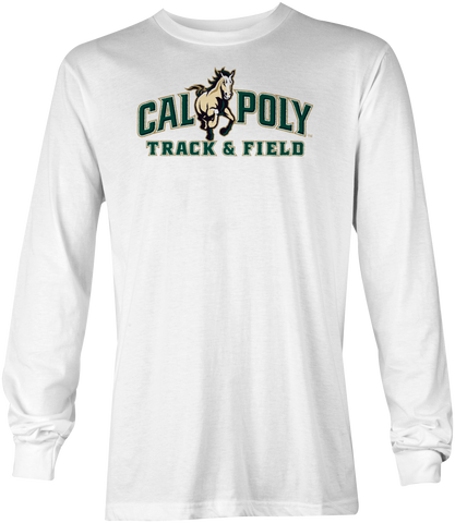 Cal Poly Track & Field Long Sleeve T-Shirt