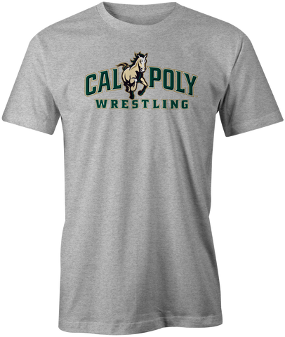 Cal Poly Wrestling Short Sleeve Standard Cut T-Shirt