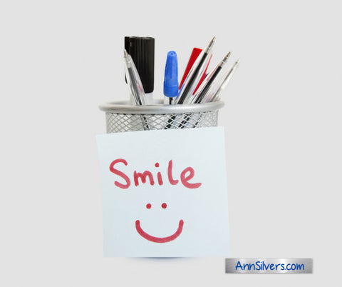 Add bonus smiles, anxiety and stress relief tip