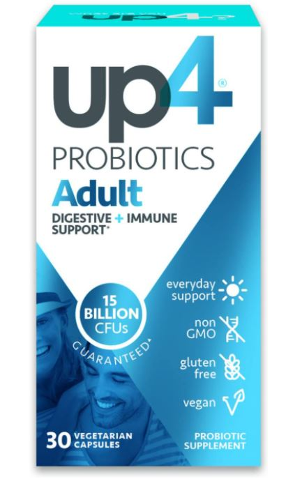 up4 Adult Probiotic Supplement for anxiety