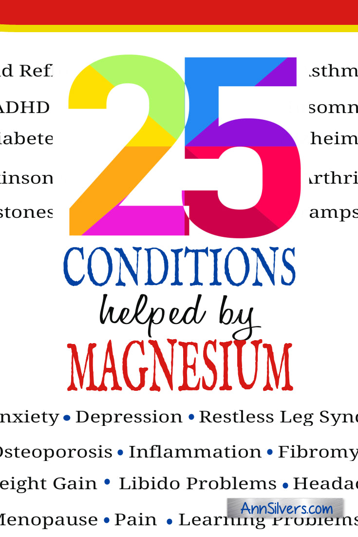25 Magnesium Supplement Health Benefits