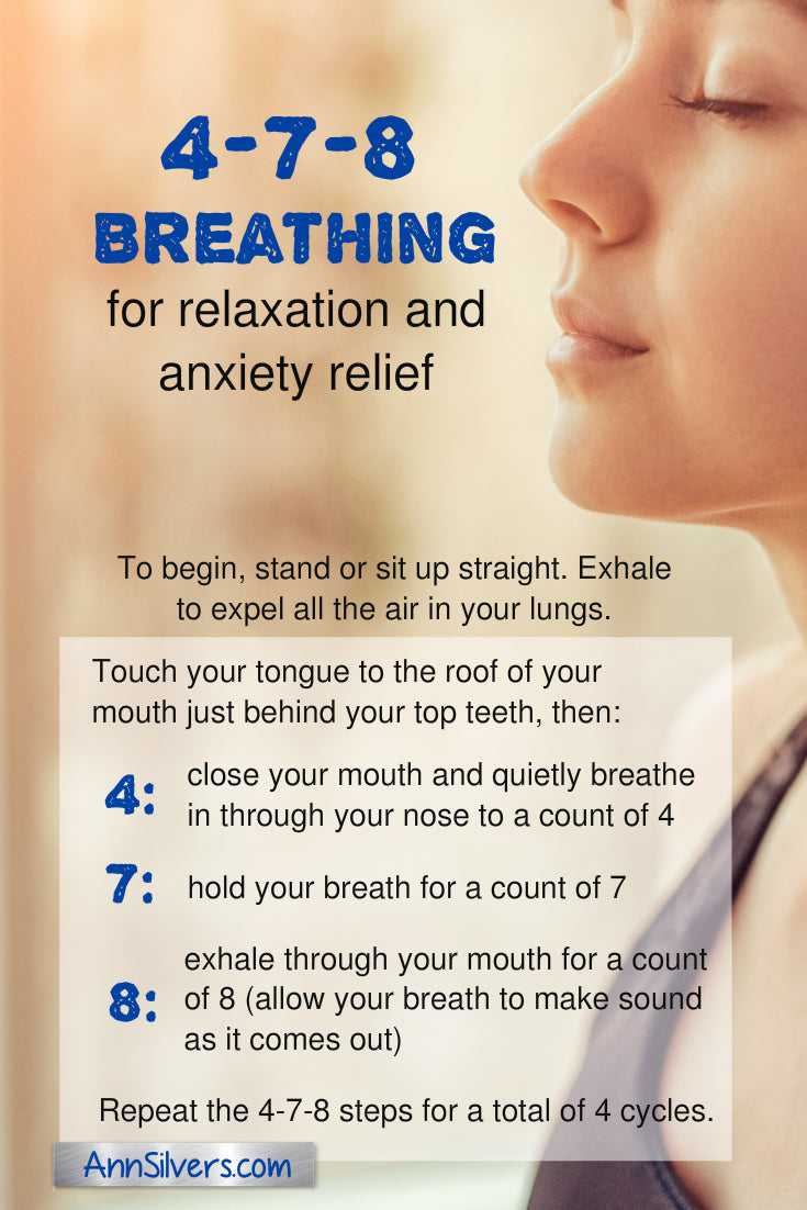 Reduce stress and anxiety with 4 7 8 Breathing Meditation for stress and anxiety relief