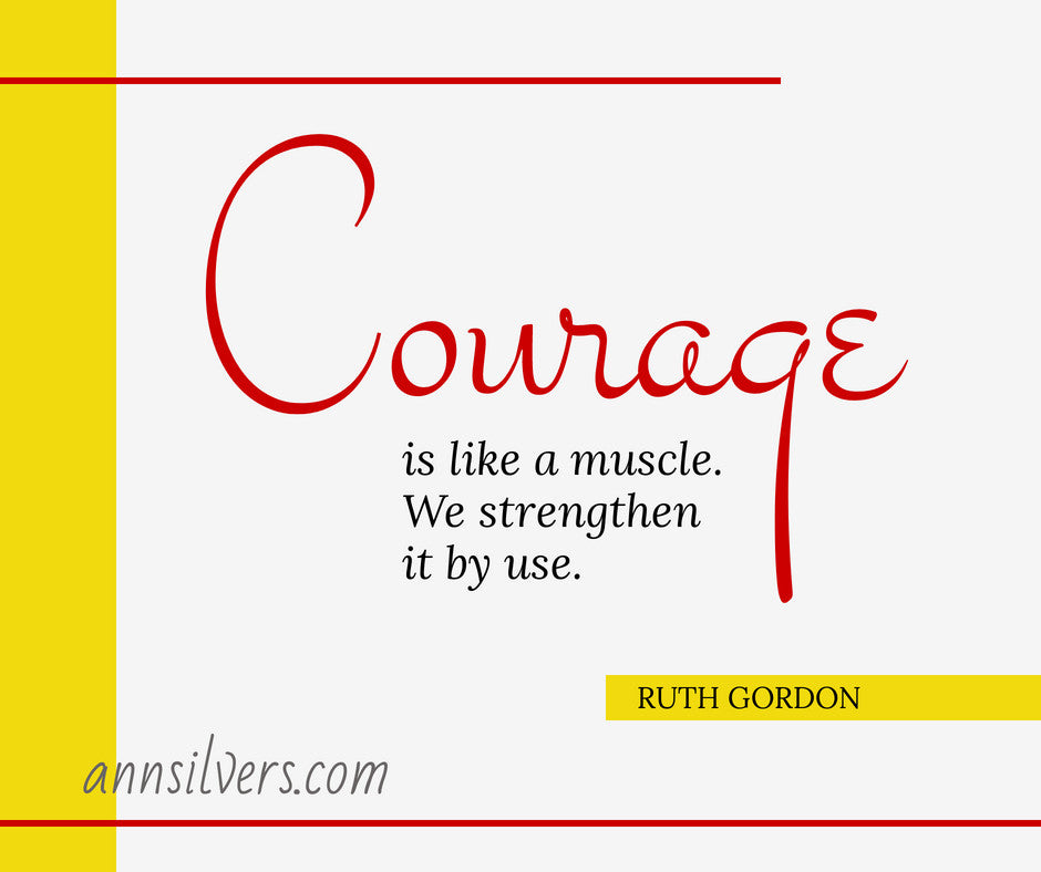 courage in hard times quote