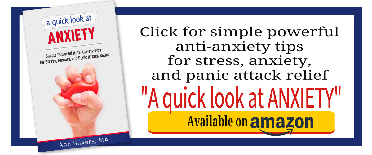 A quick look at Anxiety: Simple Powerful Anti-Anxiety Tips for Stress, Anxiety, and Panic Attack Relief, book for anxiety relief