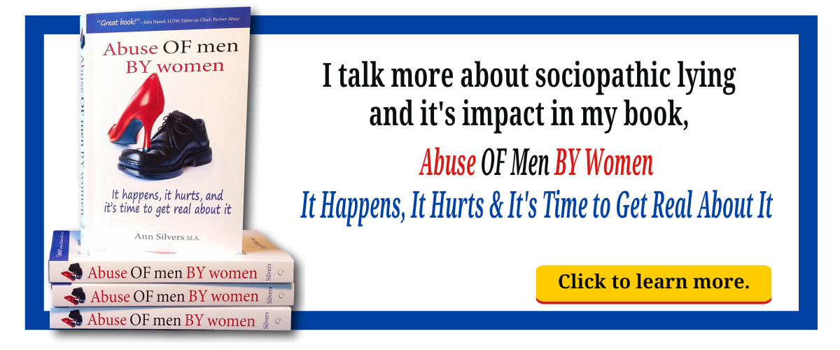Abuse OF Men By Women book, abusive women, abused men, sociopathy and lying