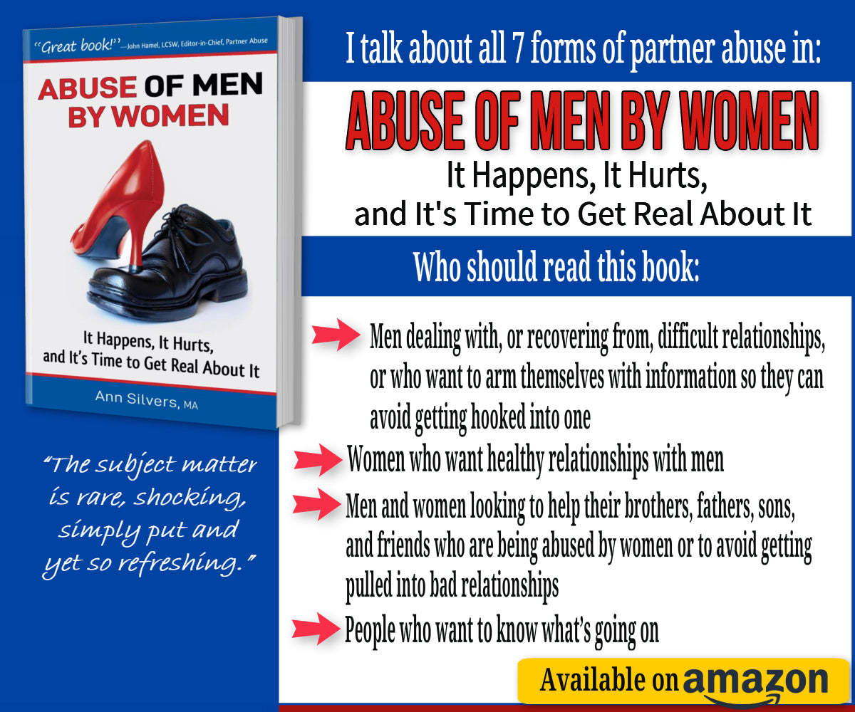 Abuse OF Men BY Women book, women abusing men, women who abuse men, a controlling and abusive wife, verbally and emotionally abusive wife or girlfriend