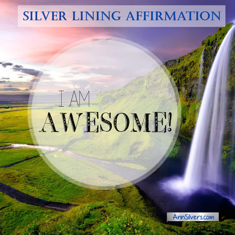 I am awesome affirmation for self confidence