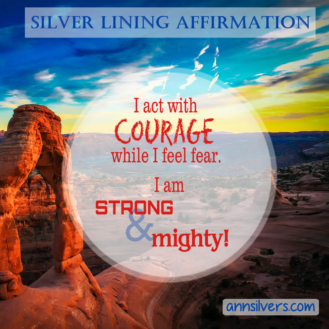 Positive Daily Affirmation for Getting Through Challenges, Stress, and Anxiety