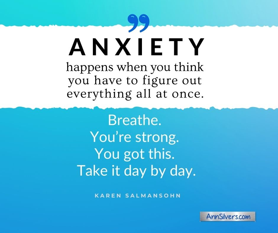 anxiety quote Breathe