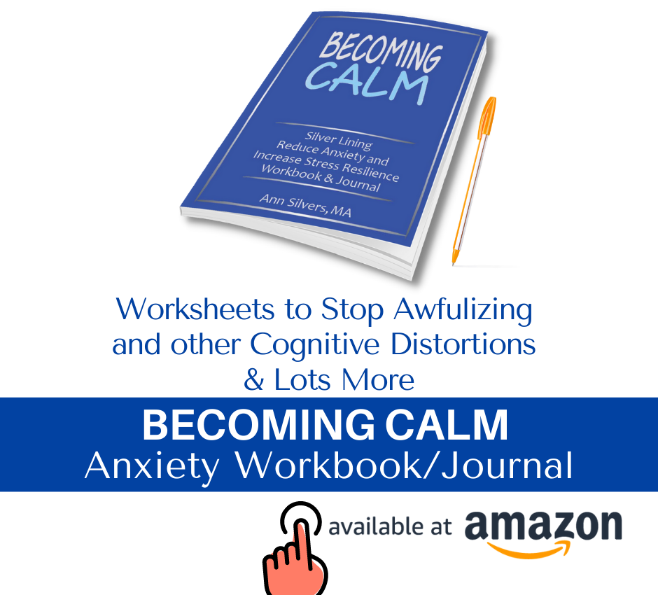 Anxiety Worksheets Stop Catastrophizing and Cognitive Distortions