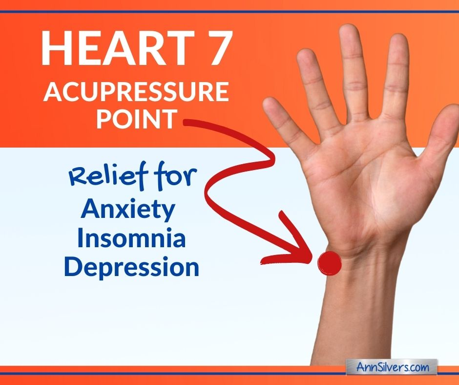 Heart 7 Acupressure Point to Relieve Anxiety and Insomnia