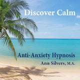Discover Calm Anti-Anxiety hypnosis recording, help with anxiety stress relief hypnosis, help sleeping