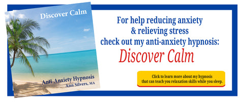 Discover Calm, anti anxiety hypnosis, relaxation hypnosis for anxiety and stress management