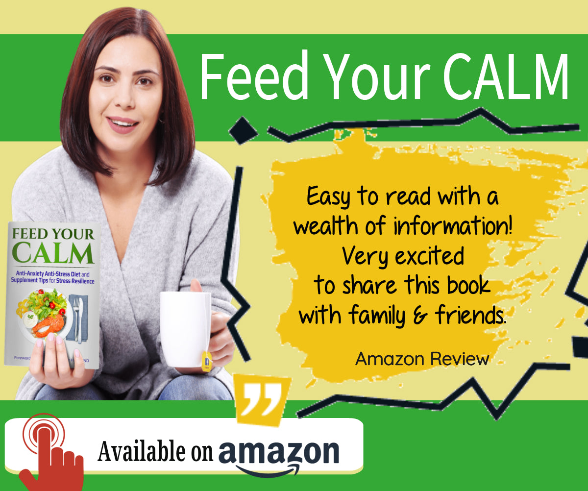 Feed Your Calm: Anti-Anxiety Anti-Stress Diet and Supplement Tips for Stress Resilience, how to use l theanine for anxiety, stress, depression, insomnia, health