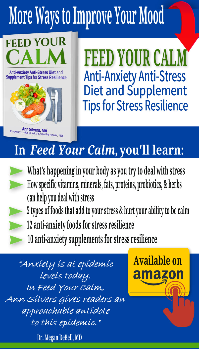 Feed Your Calm: Anti-Anxiety Anti-Stress Diet and Supplement Tips for Stress Resilience, how to use l theanine for anxiety, depression, insomnia