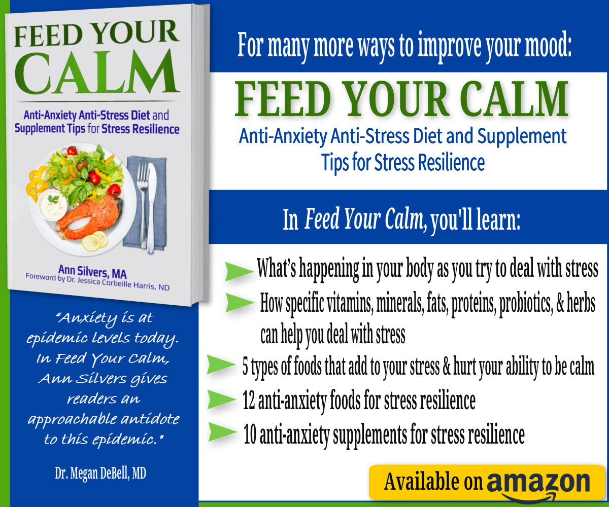Feed Your Calm: Anti-Anxiety Anti-Stress Diet and Supplement Tips for Stress Resilience, Organic eating on a budget