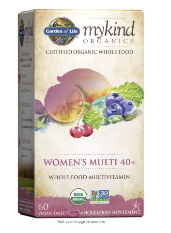 Mykind mulitvitamin for anxiety and stress relief