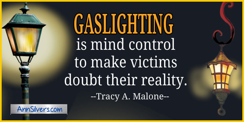 Gaslighter and Gaslighting quotes definition image