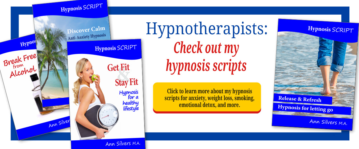 Hypnosis scripts anxiety, emotional detox, quit smoking, weight loss, quit alcohol