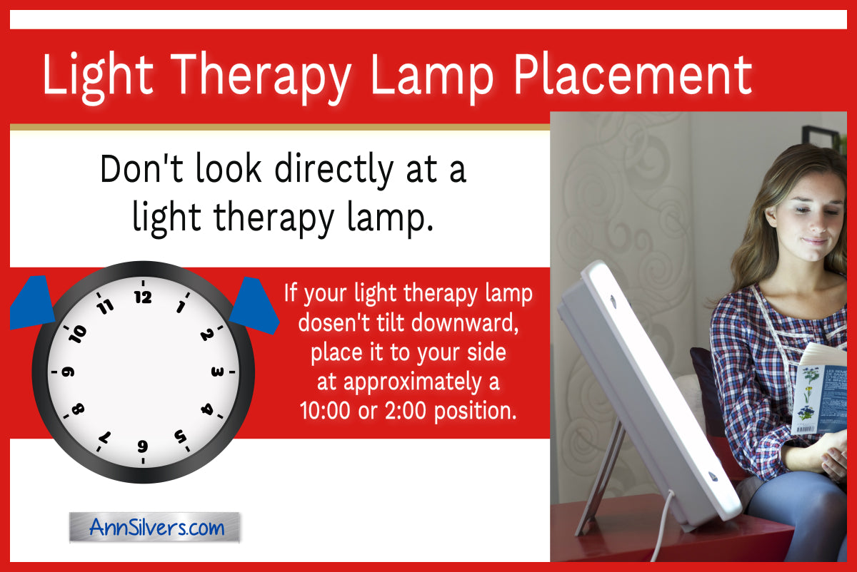 Seasonal Affective Disorder SAD Treatment Light Therapy, How to Use  Phototherapy Light Box for winter depression