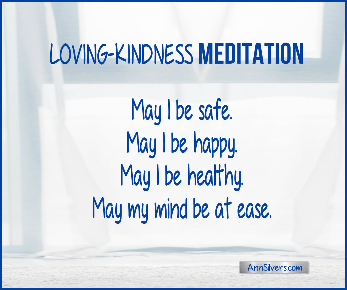 Metta Loving Kindness Meditation phrases