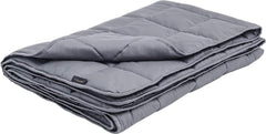 Luxome weighted blanket with integrated cover