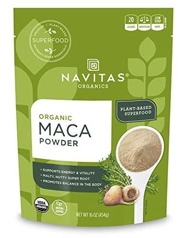 Maca powder adaptogen