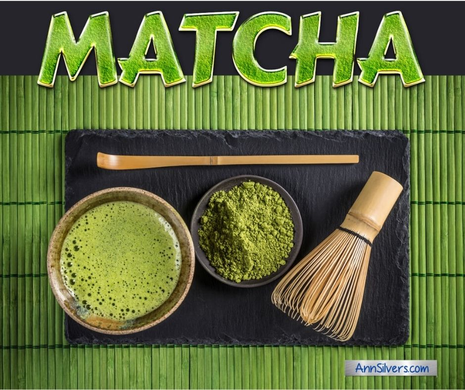 Matcha tea for anxiety relief
