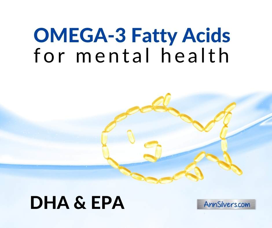 Best Omega 3 fatty acids for anxiety, depression, mental health