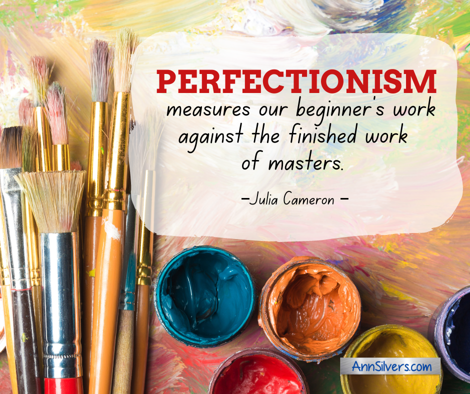 Perfectionism definition quote
